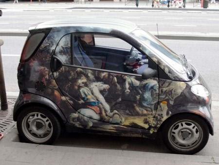 galeri modifikasi mobil mini desain unik dan menarik