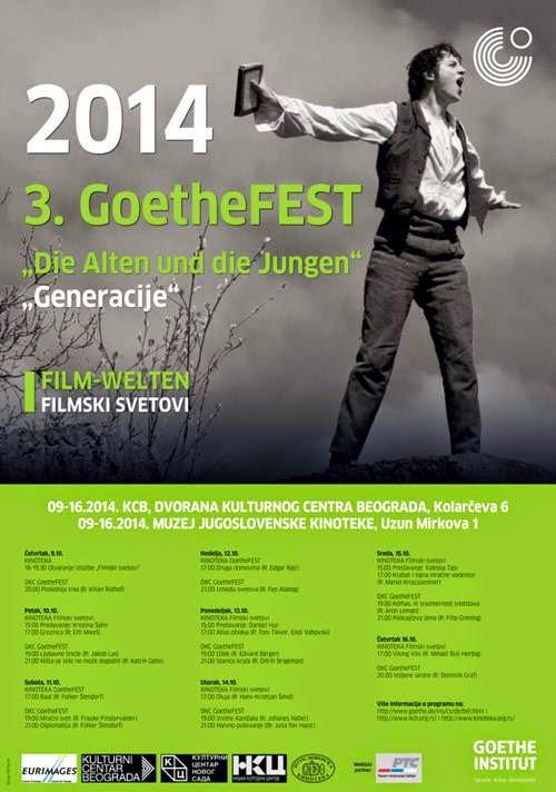 3. Festival nemačkog filma - Goethe FEST 2014