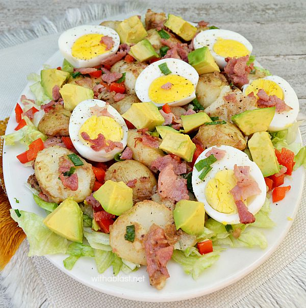 Potato Bacon & Egg Salad (Fall)