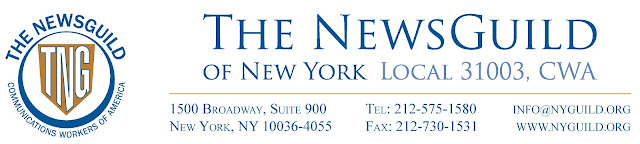 The NewsGuild of N.Y., CWA Local 31003