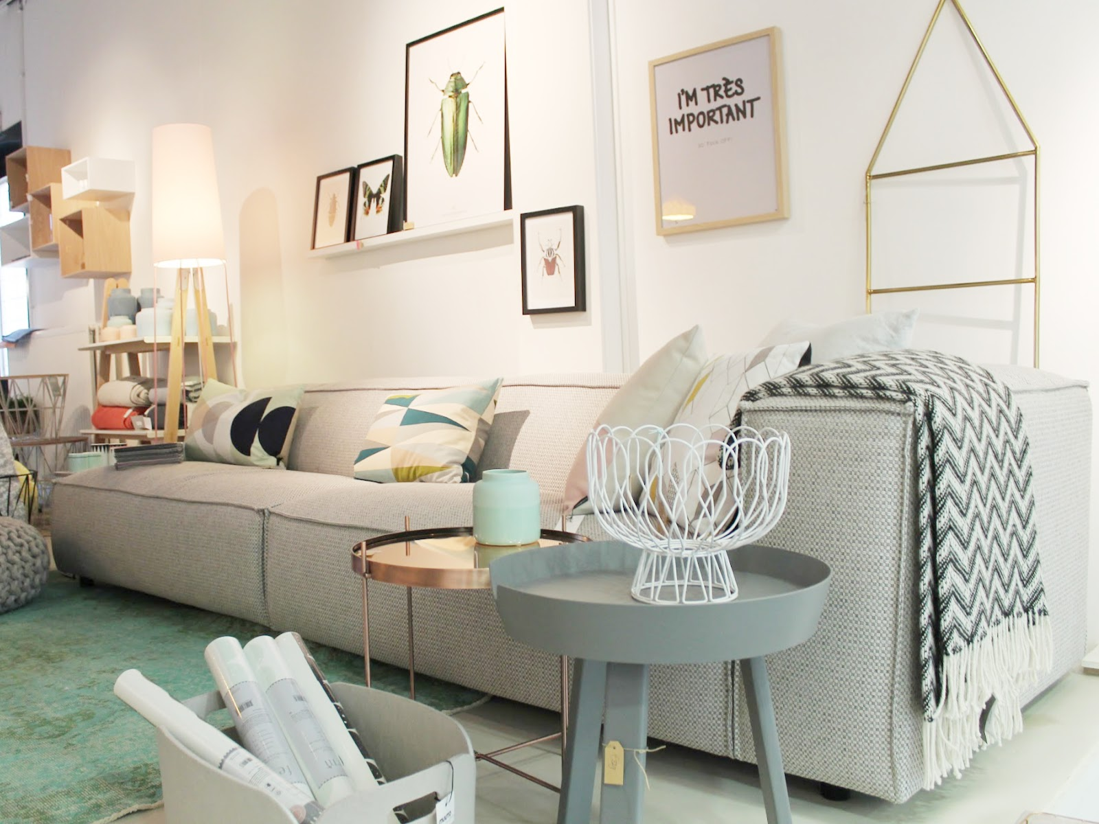 Scandinavisch Pastel Interieur : Missjettle : mint interiors