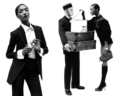>Jourdan Dunn par Alasdair McLellan pour Vogue UK