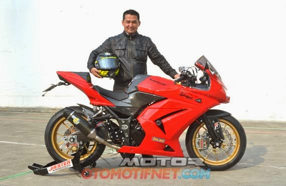 Modifikasi Ninja 250 cc Full Variasi title=
