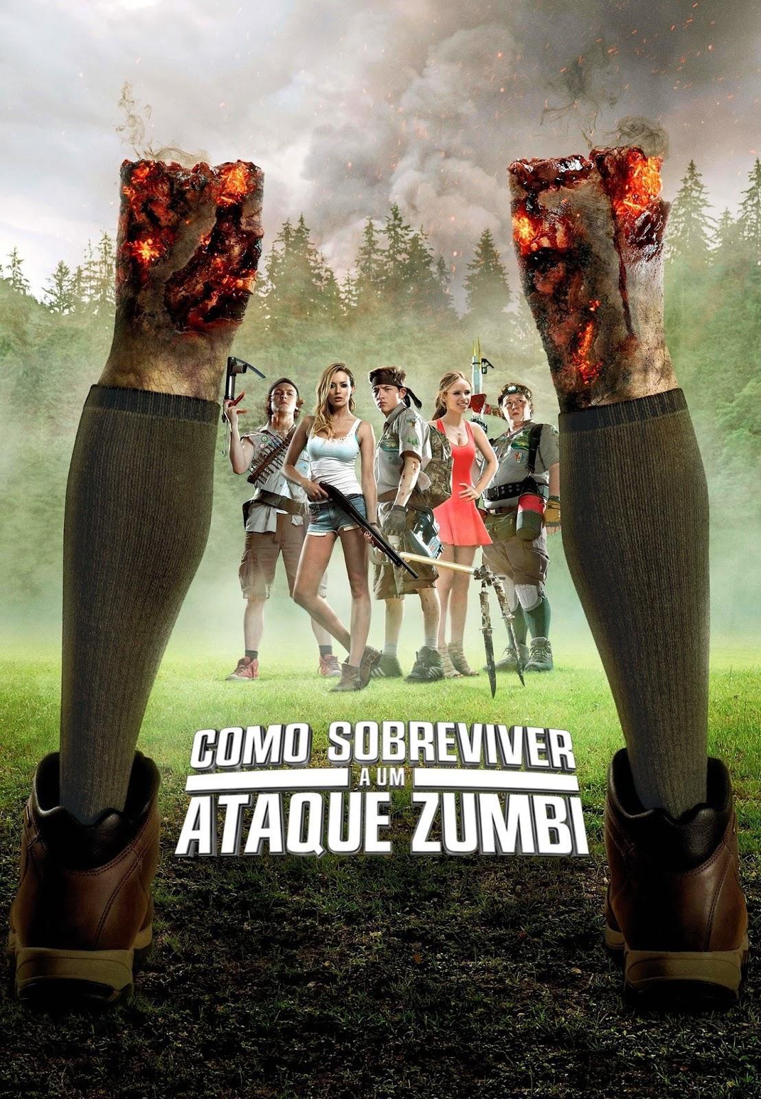 Como Sobreviver a Um Ataque Zumbi – Dublado (2015)