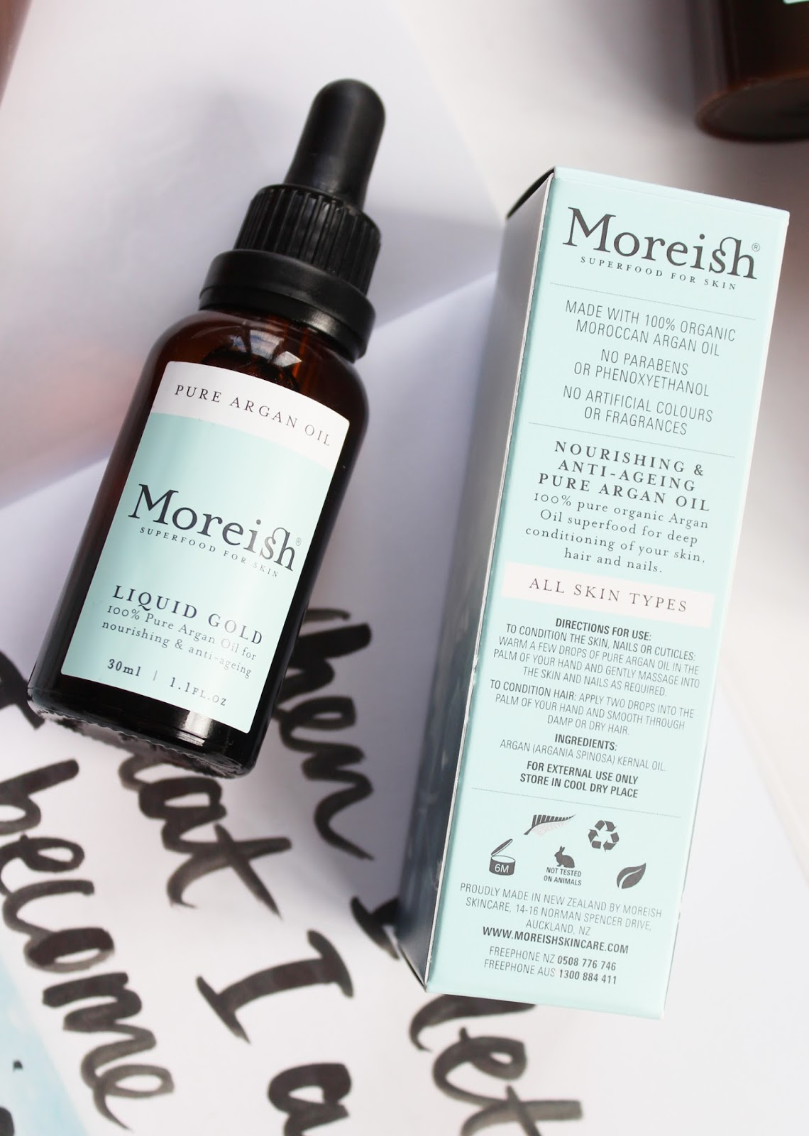 MOREISH SKINCARE | Foaming Cleanser, Day Cream + Argan Oil - Review - CassandraMyee