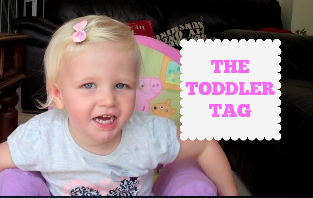 THE TODDLER TAG!