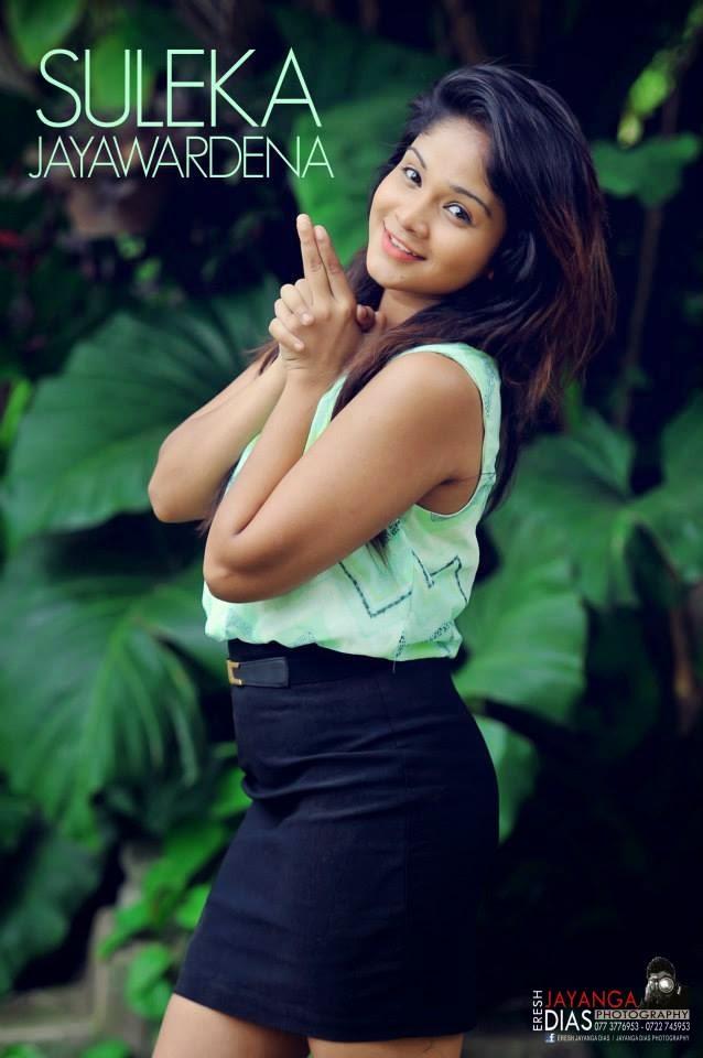 Suleka Jayawardena miniskirt