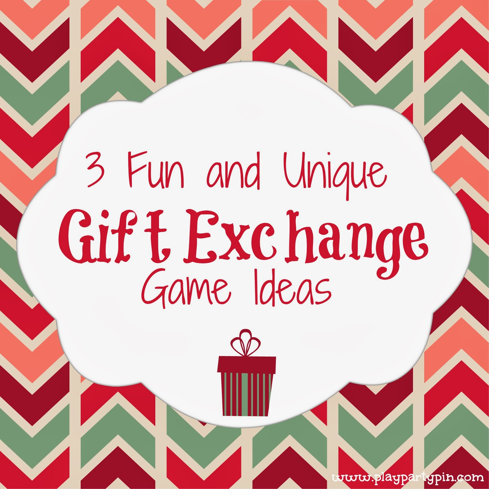 3 fun and unique gift exchange ideas play party pin Good gifts for gift exchange