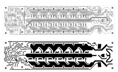 PCB Layout Design 600 Watt Mosfet Power Amplifier