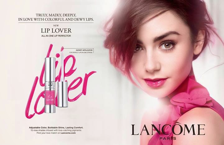 Lancome Lip Lover Review, RoseMantic, AmouRose, GlamouRose, Lancome, Lip Lover, Lancome Lip Lover, Lily Collins