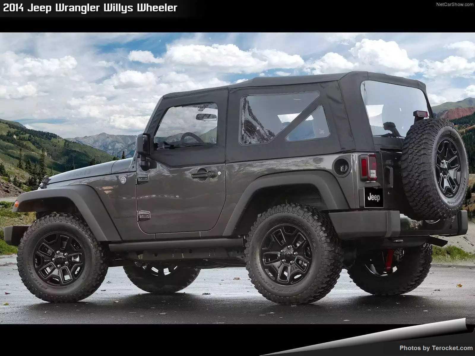 Hình ảnh xe ô tô Jeep Wrangler Willys Wheeler 2014 & nội ngoại thất