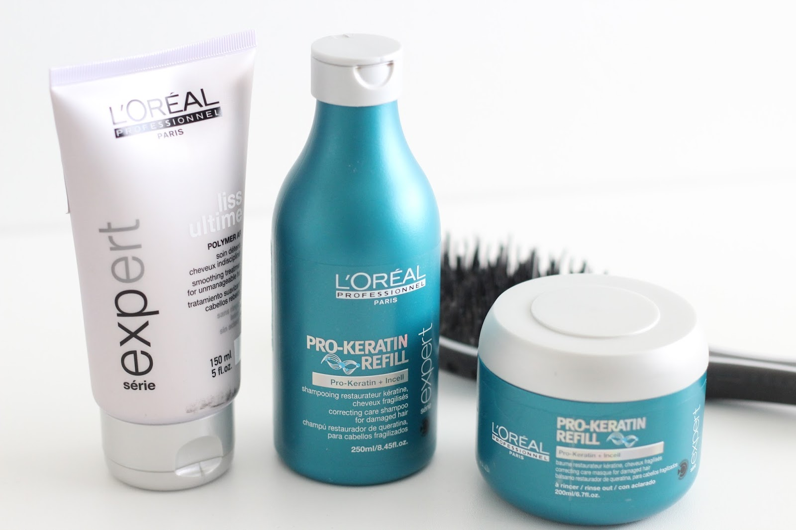 3 steps to properly take care of damaged hair - Quite a Looker Blog Loreal Professionnel shampoo, hair mask and leave-on conditioner review, AirMotion Brush