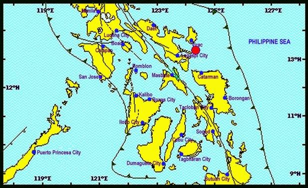 Earthquake in Bicol