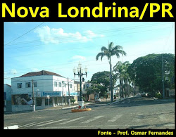 Nossa cidade - Nova Londrina