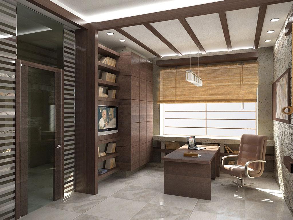 Зал кабинет дизайн