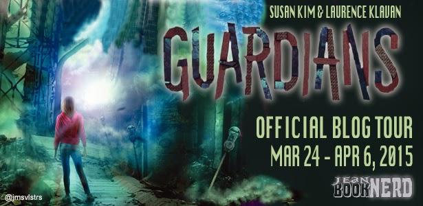 http://www.jeanbooknerd.com/2015/02/guardians-by-susan-kim-laurence-klavan.html