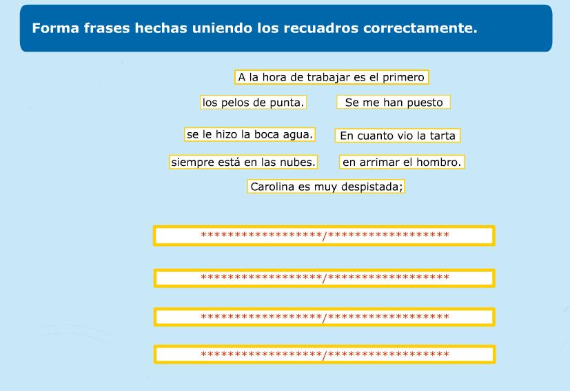 http://www.primerodecarlos.com/TERCERO_PRIMARIA/abril/Unidad10/lengua/actividades/frases_hechas/indice.swf