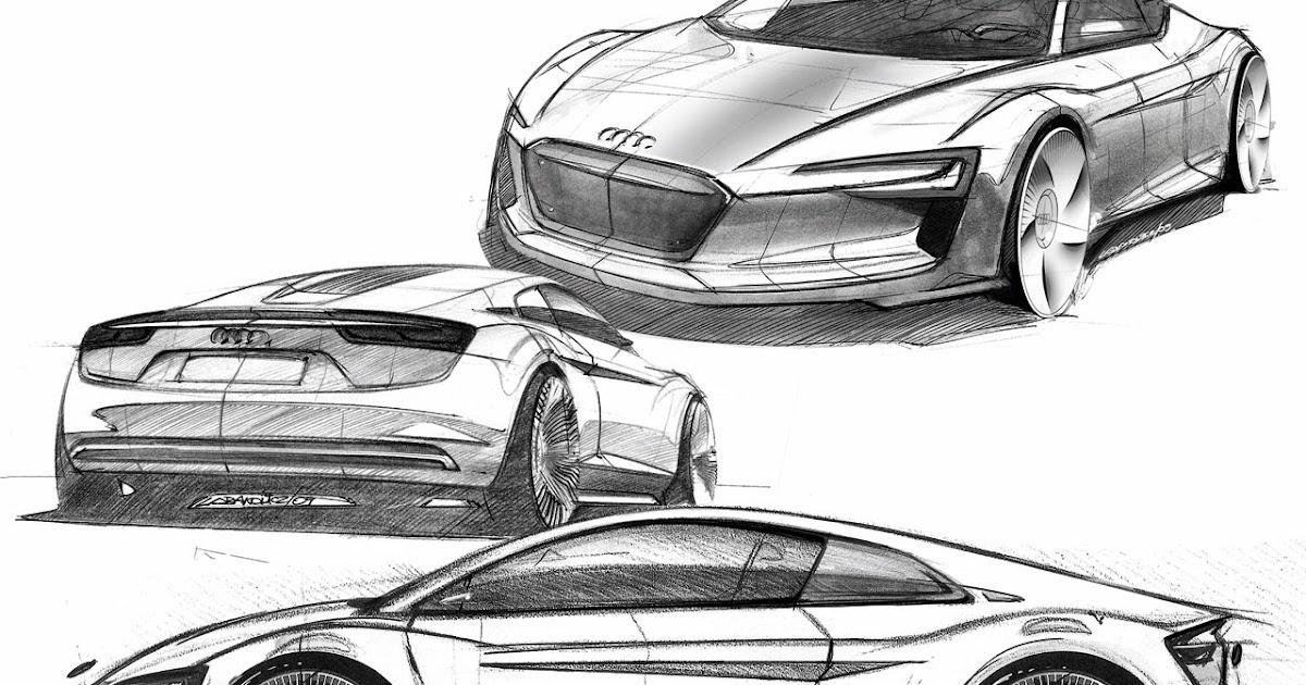 Supercar Sketches Gallery Audi E Tron Concept 2009