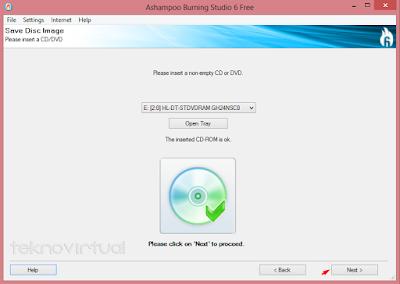 Cara Membuat File ISO dari CD/ DVD 2