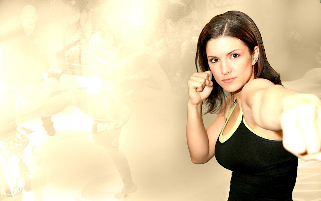 ufc mma gina carano wallpaper picture image