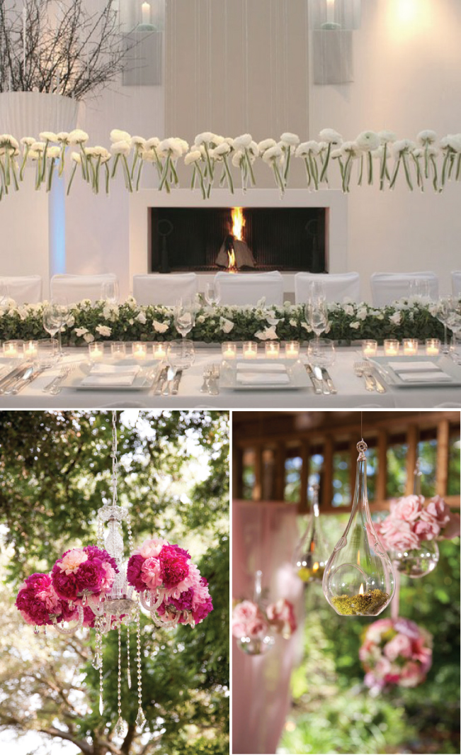 Wedding Trends} : Hanging Wedding Decor - Belle the Magazine . The