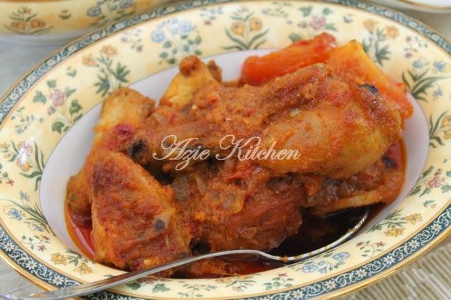 Ayam Masak Merah Yang Paling Best Mesti Cuba Makanan