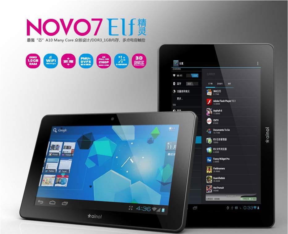 Ainol Novo 7 ELF II - Android Lounge | Android Forums