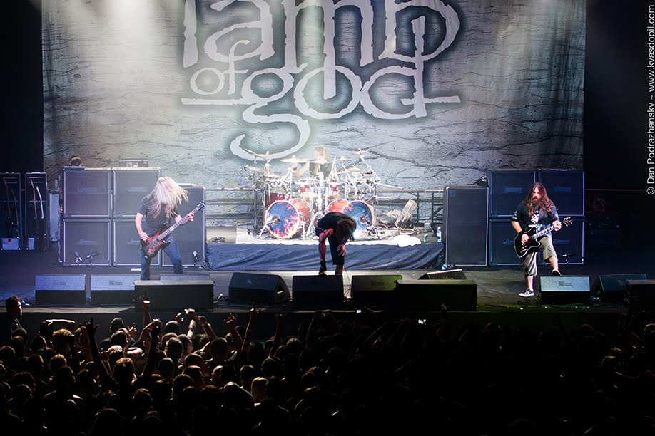 Lamb of God Setlist Hangar 11, Tel Aviv, Israel 2012, Resolution Tour