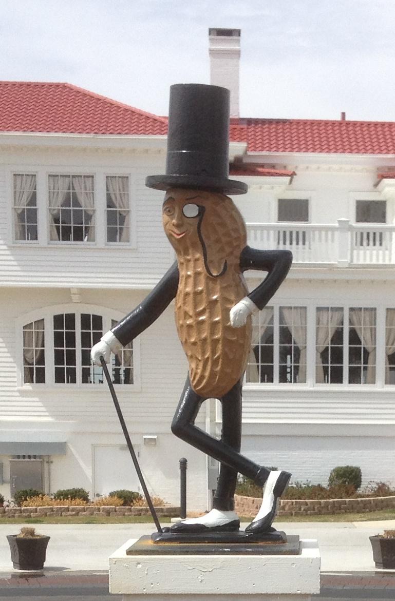 Preservation Virginia S Blog Mr Peanut Shines In Suffolk