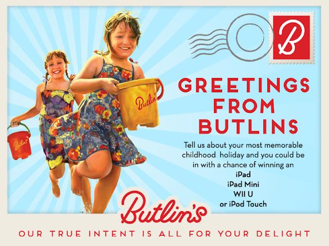 Butlin's postcard