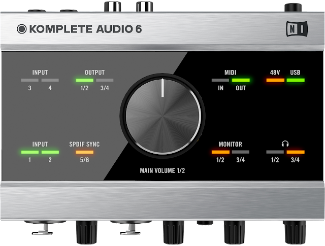 Komplete Audio 6 Native Instruments