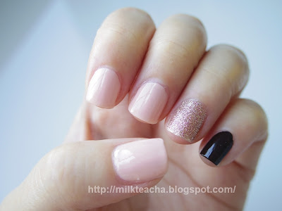 Base color of the Simple yet Chic nails