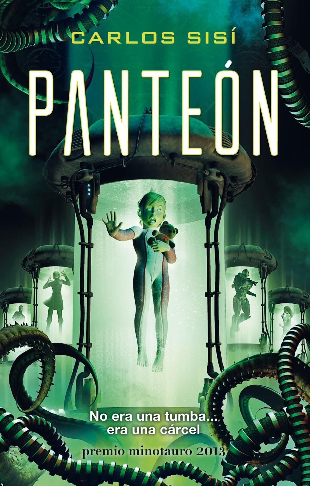 panteon-x-premio-minotauro-2013-9788445001172 80 novelas recomendadas de ciencia-ficción contemporánea (por subgéneros y temas)