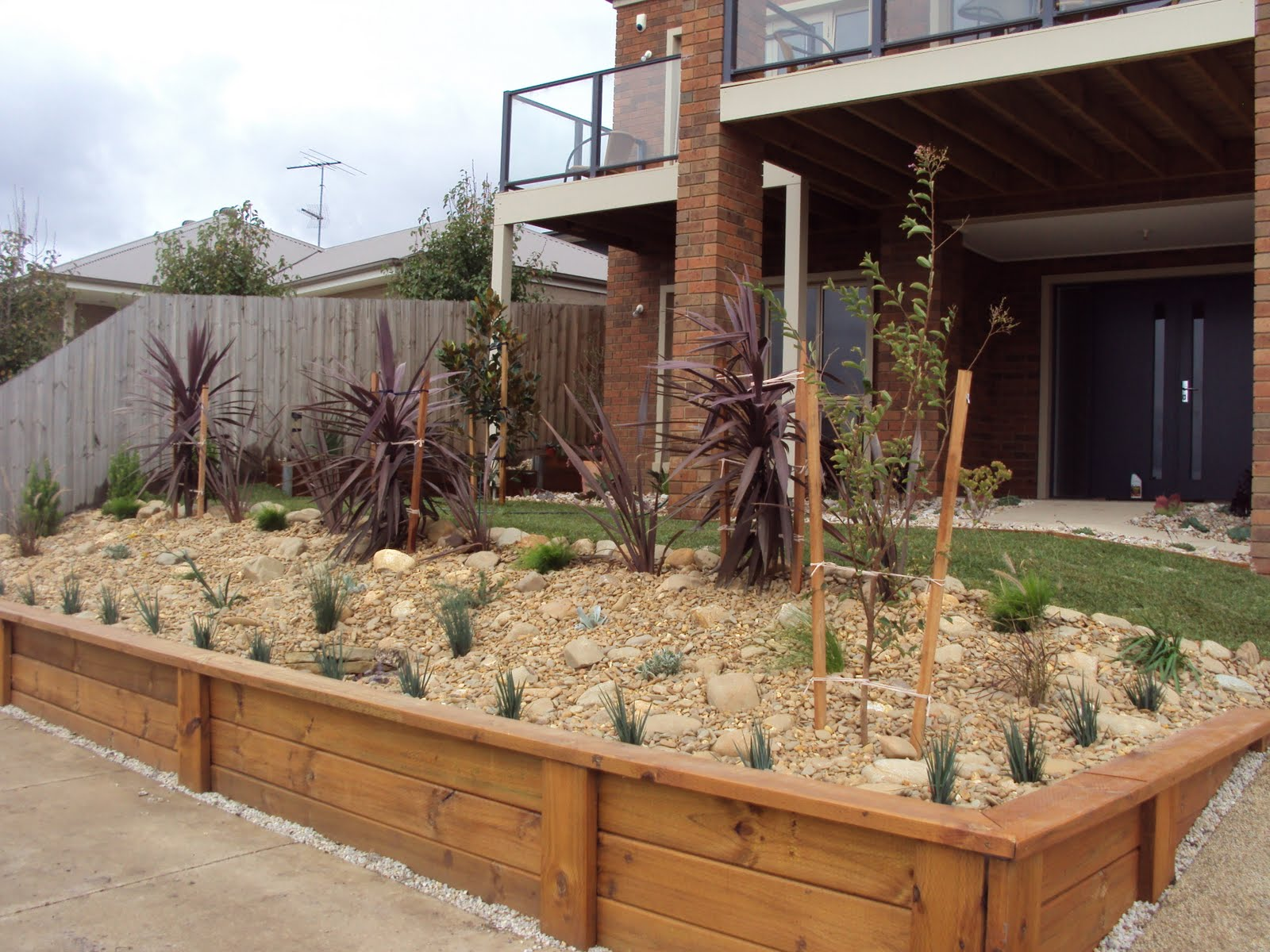 Scorpio landscaping geelong small front yard extremely for Garden design geelong