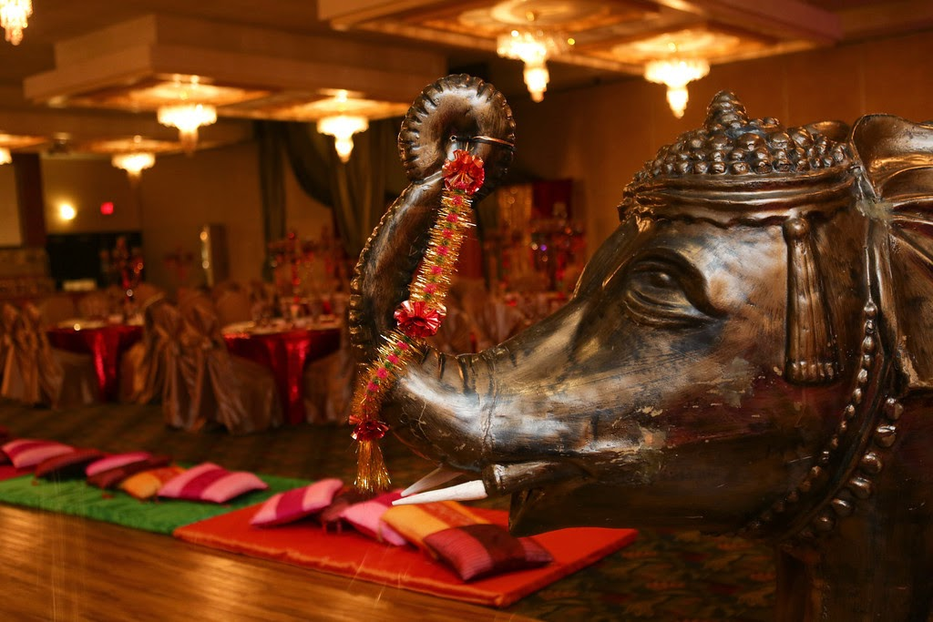 indian wedding, mehndi, decor, elephant