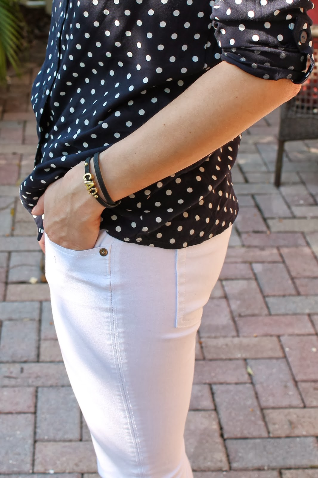 polka dot, fashion blog, H&M, Nordstrom, statement necklace, prep, miami, style blog, classic,