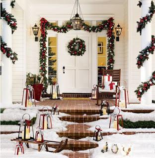 decoración de navidad fachada
