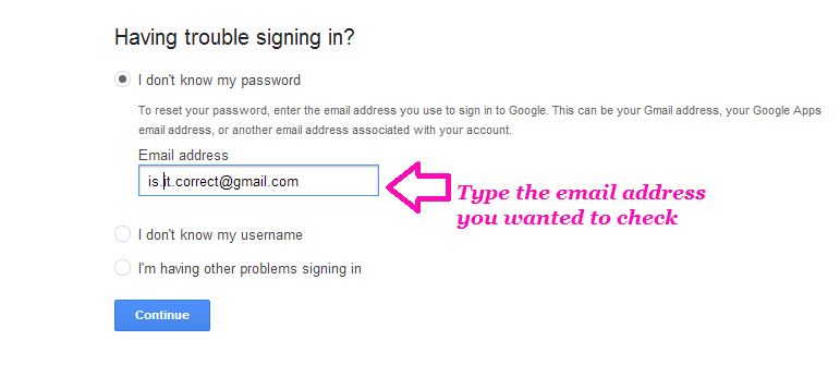 check-email-address