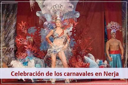 Podrá disfrutar de las diversas actividades que se celebran durante el carnaval de Nerja