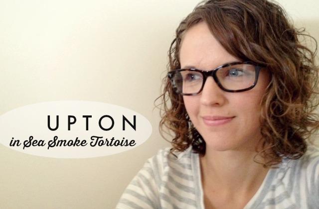 Warby Parker Women's Glasses // upton in sea smoke tortoise