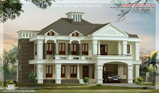 Victorian style luxury villa