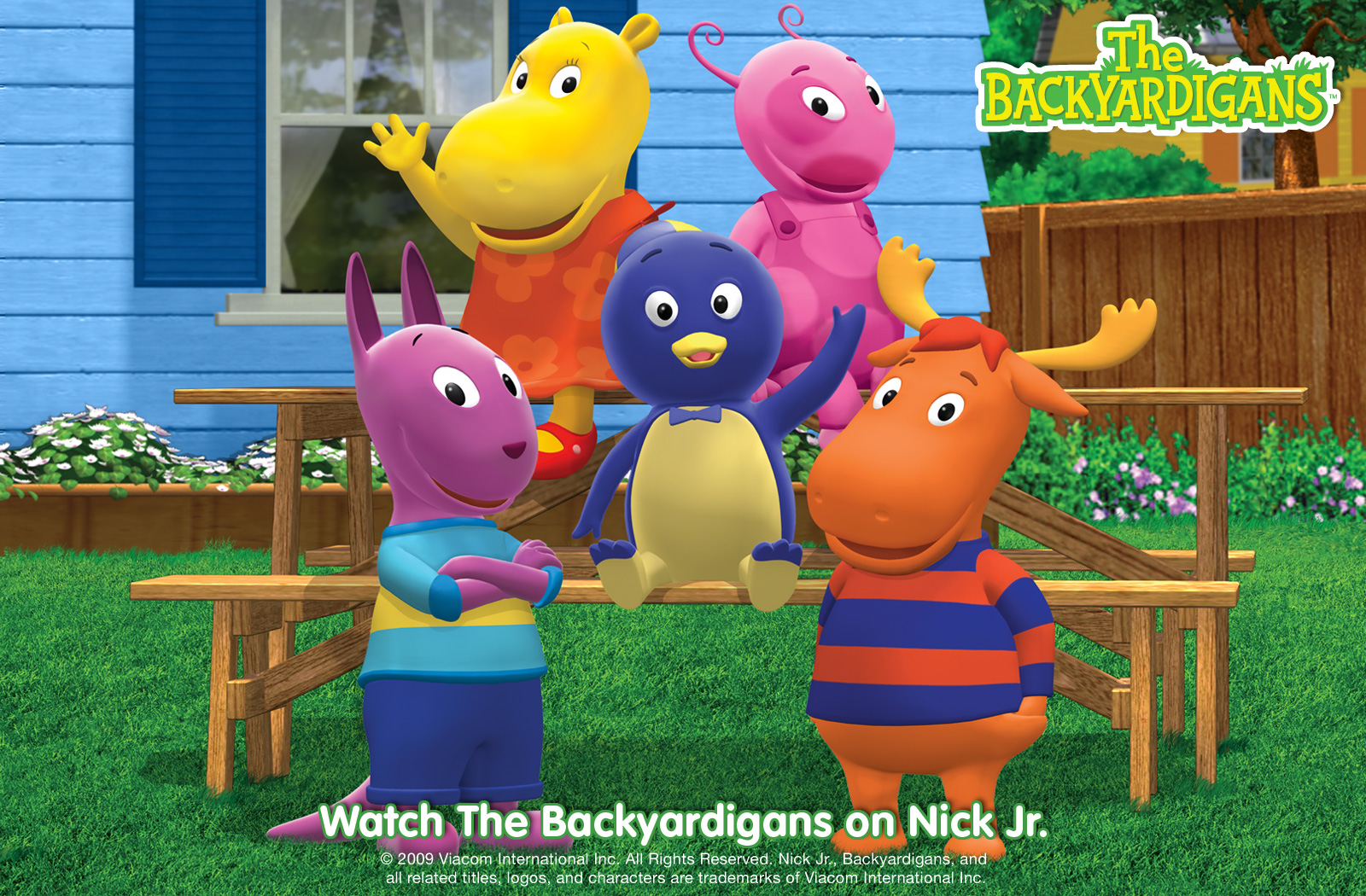letra de canciones backyardigans: