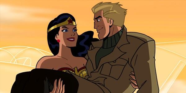 Wonder Woman y el piloto Steve Trevor
