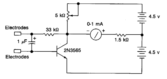 lie detector circuit diagram  zen diagram, circuit diagram
