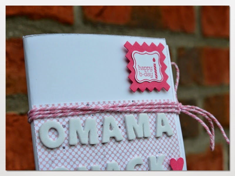 Dani S Blog Geburtstagskarte Fur Die Oma