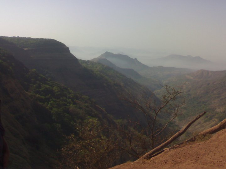 View of valley in Matheran