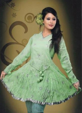 Pista-Green-Fancy-Kurti