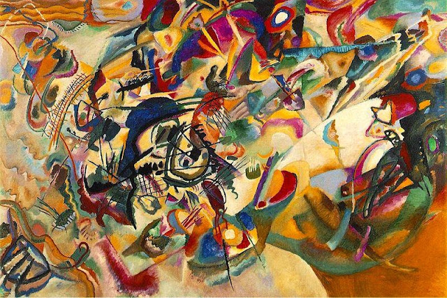 Wassily Kandinsky, Composition VII, 1913.