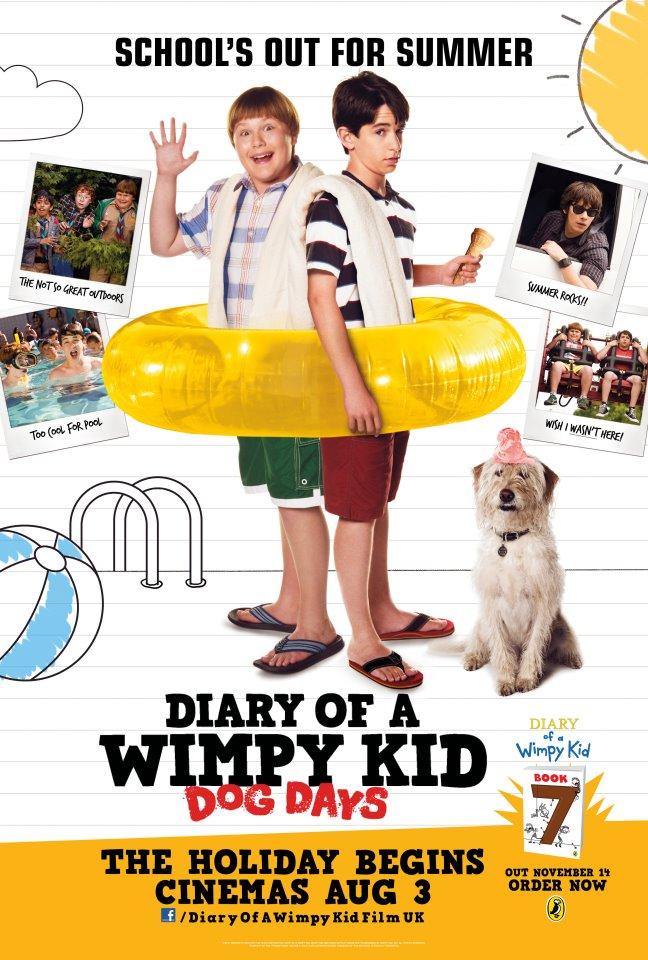 Diary Of A Wimpy Kid 3: Dog Days ไดอารี่ของเด็กไม่เอาถ่าน 3: ปิดเทอมแสนป่วน-[VCD] [Master]-[พากย์ไทย]