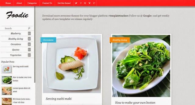 Foodie Blogger Yemek Tarifi Teması
